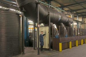 URANIE International : fabrication barre chromée