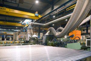Fabrication barre chromée pour vérin hydraulique