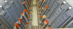 Contrôle qualité barre chromée pour vérin hydraulique